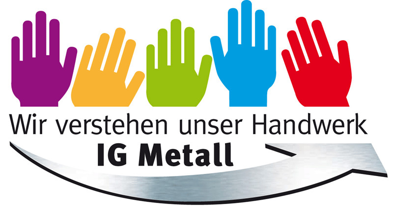 Handwerk Logo  Kfz Handwerk IG Metall Bezirk Niedersachsen und Sachsen