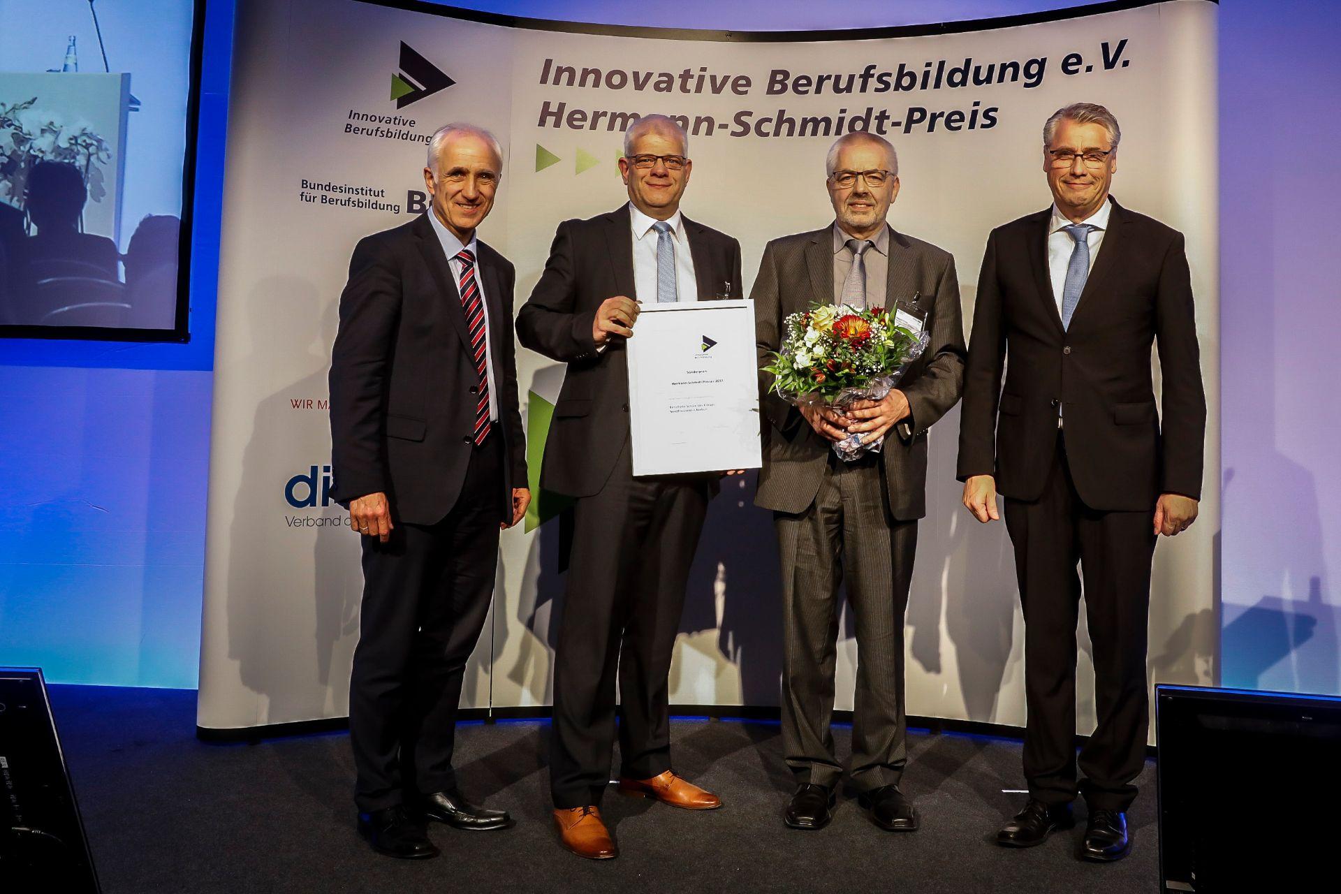 Handwerk Nordfriesland  Sonderpreis des Hermann Schmidt Preises 2017 für