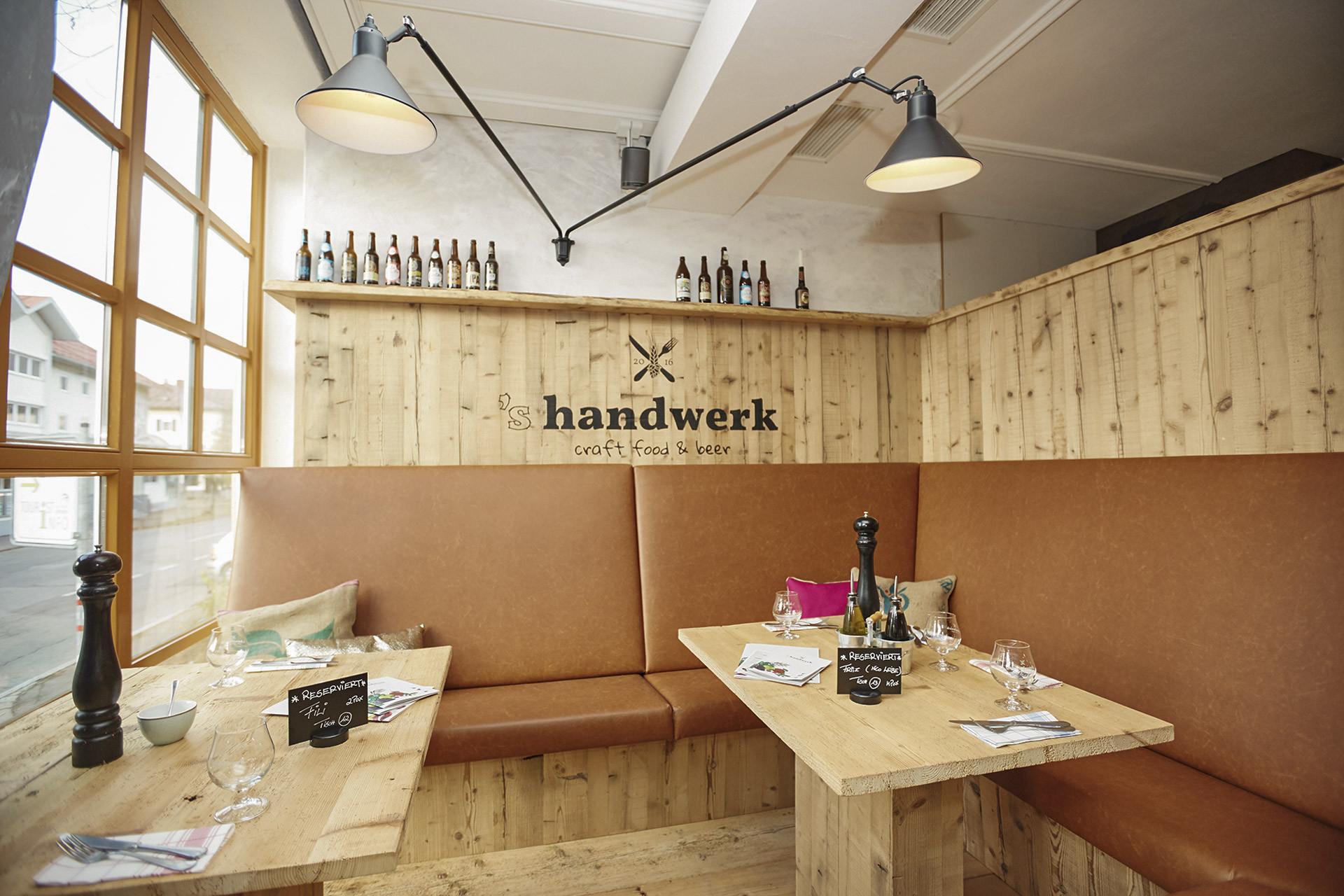 Handwerk Sonthofen  's handwerk craft food & beer Sonthofen