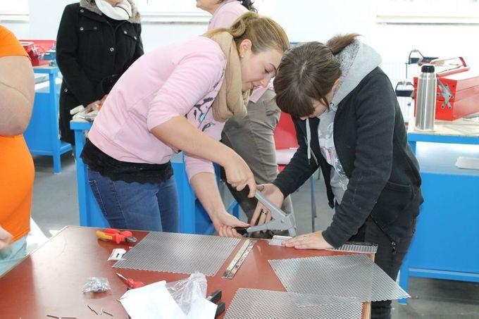 Handwerk Und Technik  Tag der offenen Tür Frauen in Handwerk und Technik