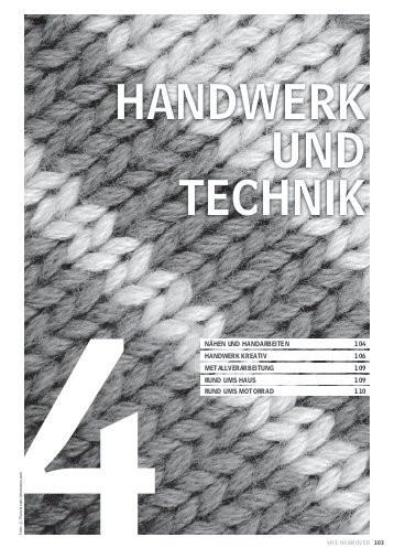 Handwerk Und Technik  VHS cONc
