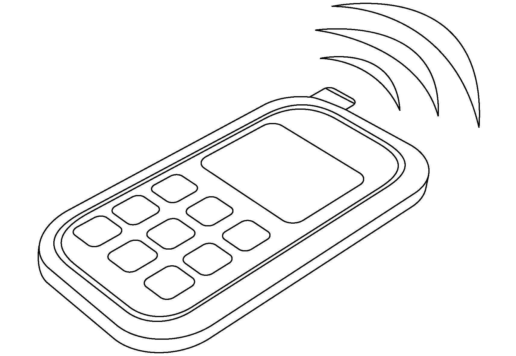 Handy Ausmalbilder  Ausmalbilder Malvorlagen – Handy kostenlos zum Ausdrucken