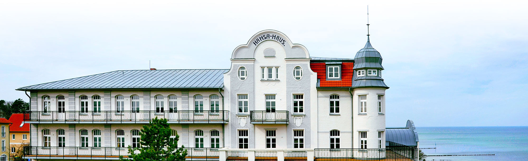 Hansa Haus  Häuser – Hotels in Kühlungsborn Hansa Haus & Schloss am Meer
