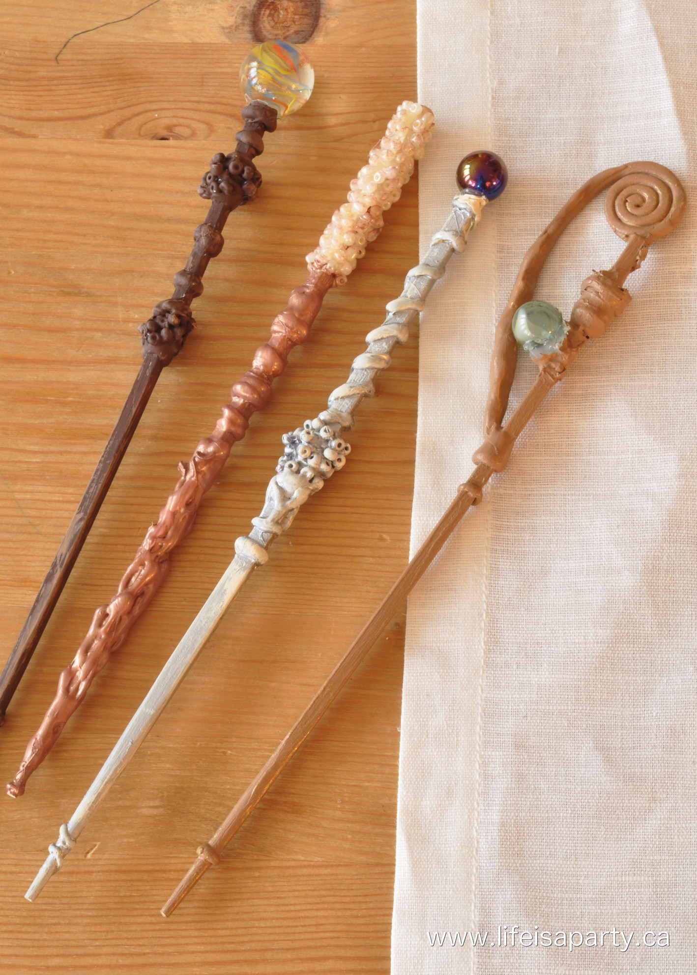 Harry Potter Wand Diy  Harry Potter Family Movie Night Life is a Party