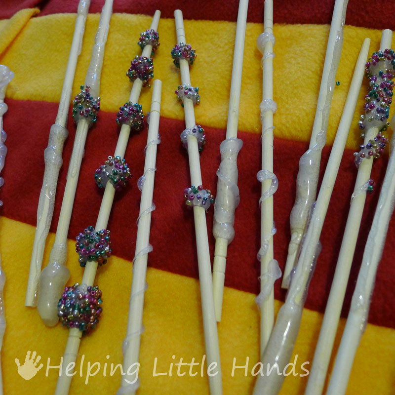 Harry Potter Wand Diy  Pieces by Polly DIY Harry Potter Wands