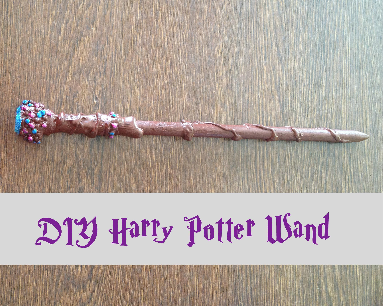 Harry Potter Wand Diy  DIY Harry Potter Wands