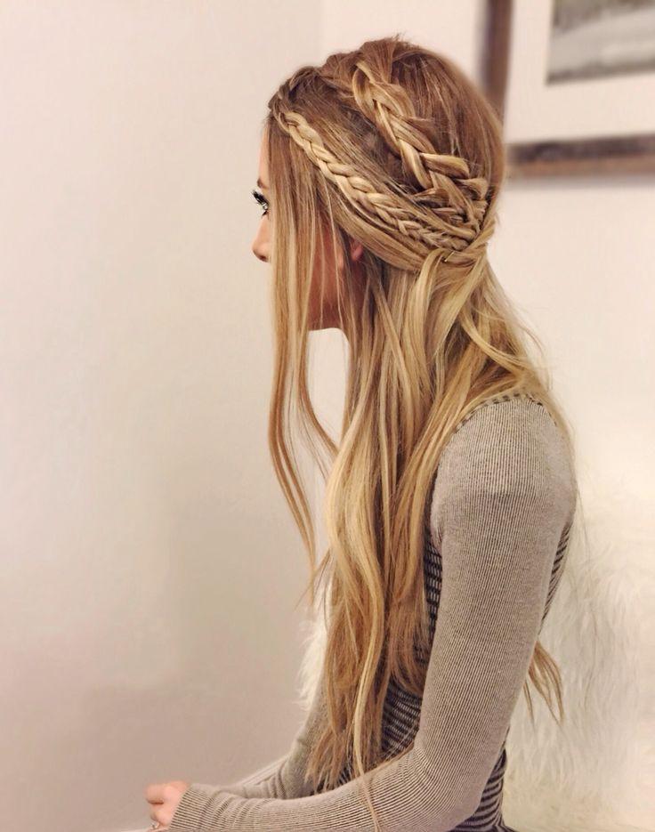 Hippi Frisuren  28 Fancy Braided Hairstyles for Long Hair 2016 Pretty