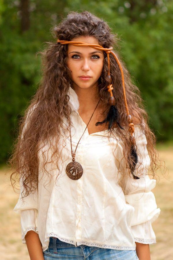 Hippi Frisuren  Hippie Frisuren Schöne Styles im Hippie Look