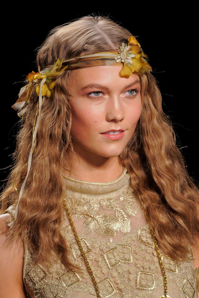 Hippi Frisuren  Herbst Frisuren 2014 beliebtesten Trends und Haarfarben