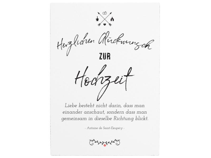 Hochzeit Spruch Kurz  WANDTAFEL Holzschild HERZLICHEN GLÜCKWUNSCH ZUR HOCHZEIT