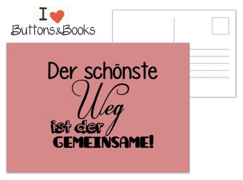 Hochzeit Wünsche Karte  Postkarte Spruch Zitat Grußkarte Liebe Hochzeit von