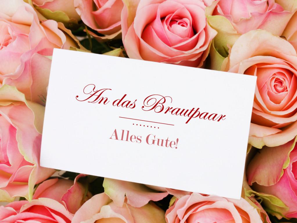Hochzeit Wünsche Karte  So formulieren Sie Hochzeits Glückwünsche