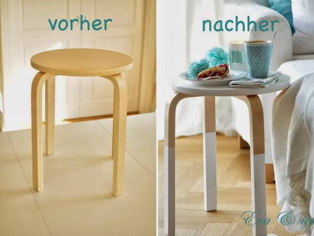 Hocker Diy  eva und ich DIY pimp your Hocker und Ommas Zwetschgenkuchen