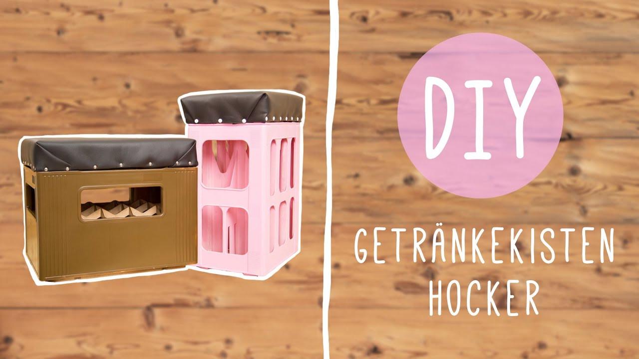 Hocker Diy  DIY mit Nina Moghaddam Getränke Kisten Hocker