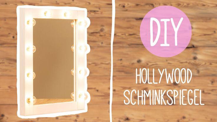 Hollywood Spiegel Diy  DIY Hollywood Schminkspiegel DIY Pinterest