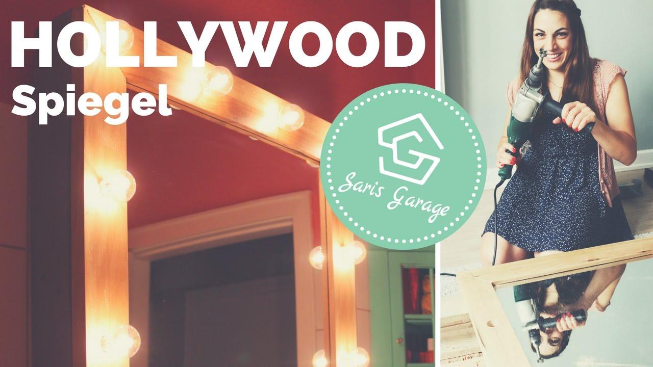 Hollywood Spiegel Diy  Spiegel Hollywoodspiegel Spiegel mit Beleuchtung