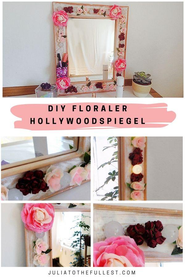 Hollywood Spiegel Diy  best German Blogger DIY images on Pinterest