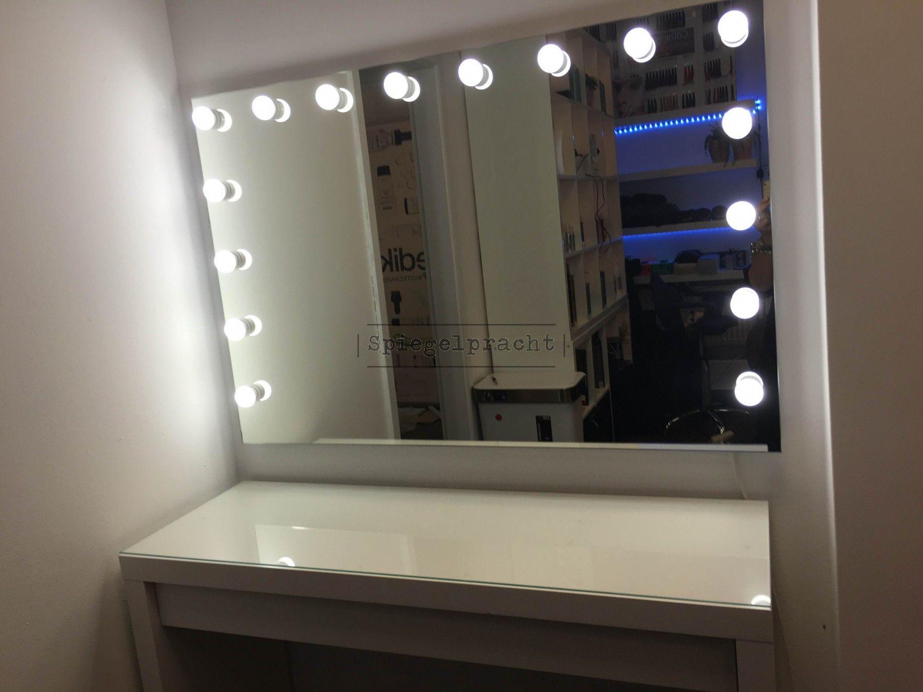 Hollywood Spiegel Diy  Make up Theater Visagie spiegel Hollywood H01