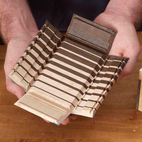 Holz-Handwerk 2019  Fold Up Keepsake Box Möbelbau in 2019