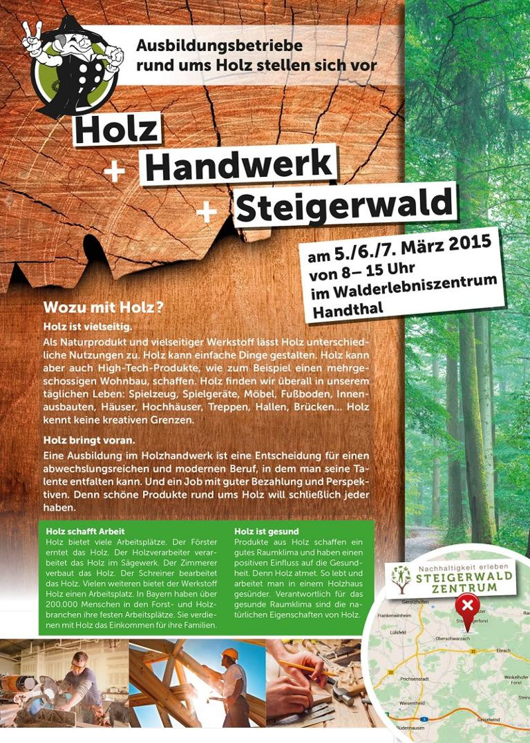 Holz-Handwerk 2019  Holz Handwerk Steigerwald – Steigerwald Zentrum