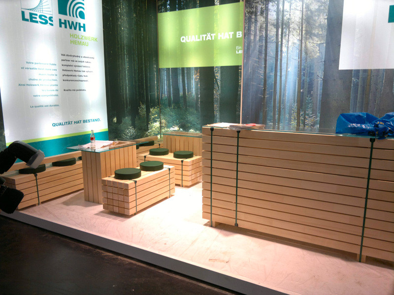 Holz-Handwerk 2019  Messeliste Messestand München