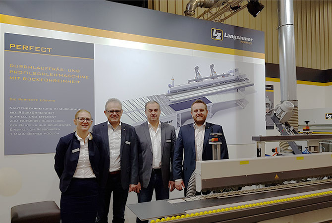 Holz Handwerk Nürnberg 2019  Langzauner Holz Handwerk 2018 Langzauner präsentiert