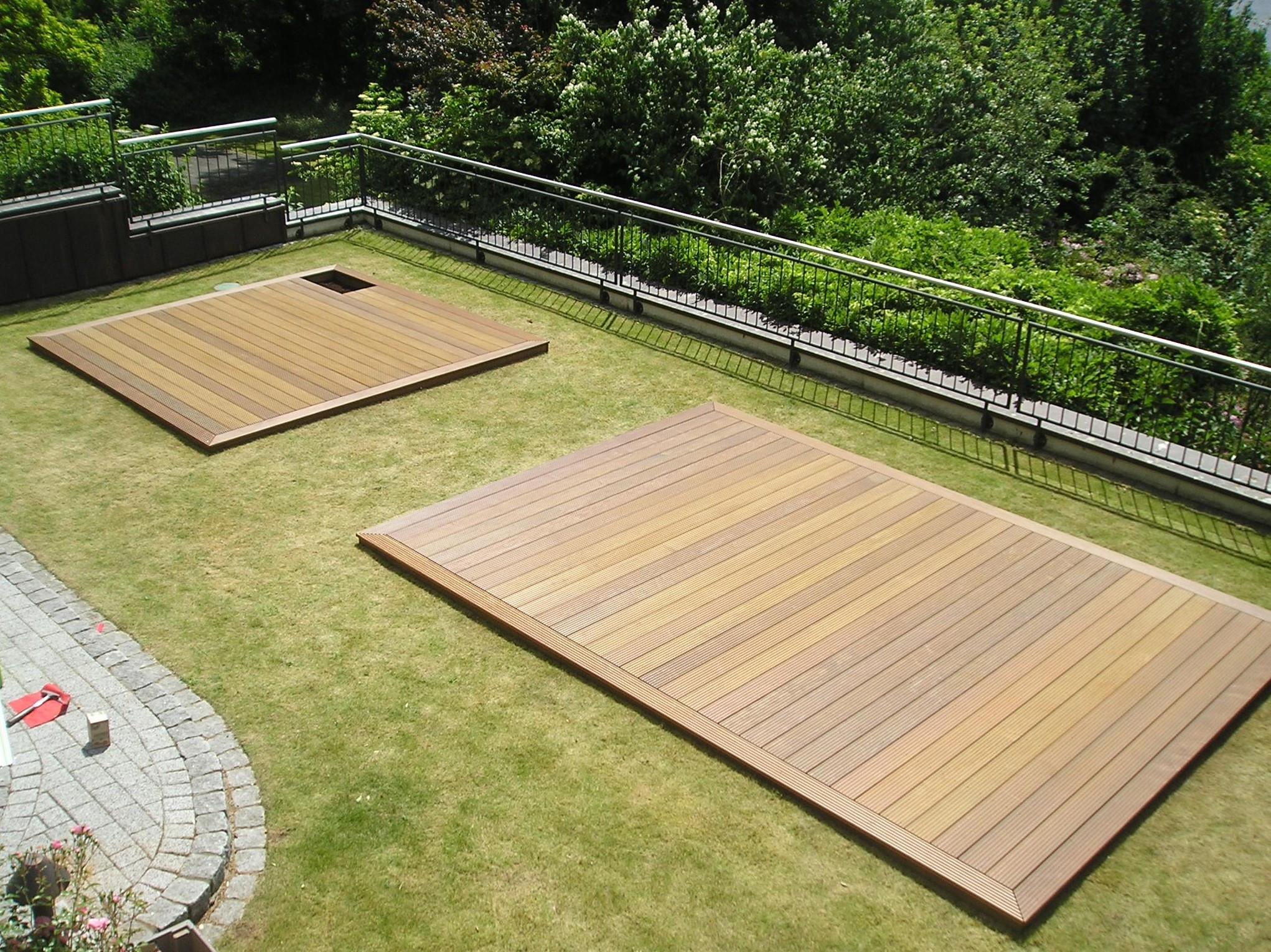 Holz Terrasse  Pool Terrasse Holz – Mein Schwimmbecken
