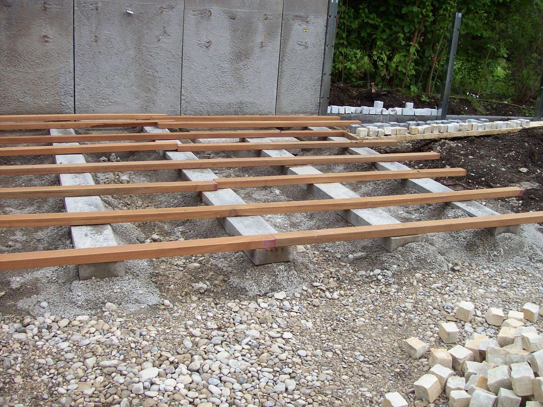 Holz Terrasse  Terrasse Holz Unterkonstruktion Anleitung – Bvrao