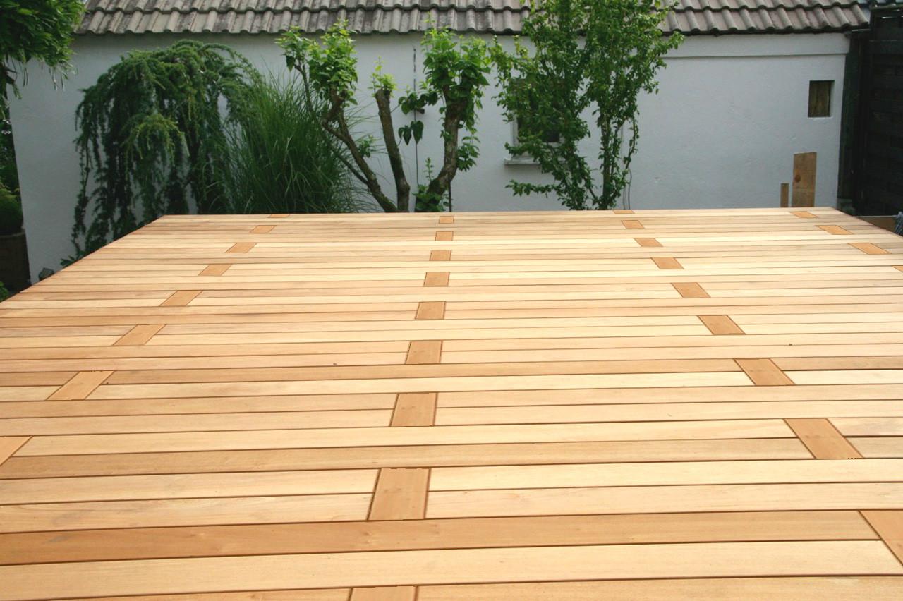 Holz Terrasse  Terrassen len Verschiedene Verlegemuster