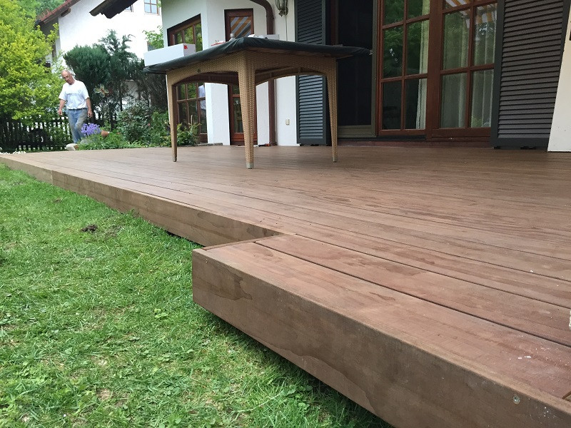 Holz Terrasse  Holz Terrasse