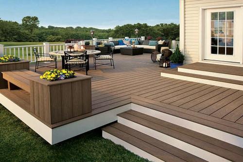 Holz Terrasse  Holzterrasse verlegen coole Idee für Ihren Außenbereich