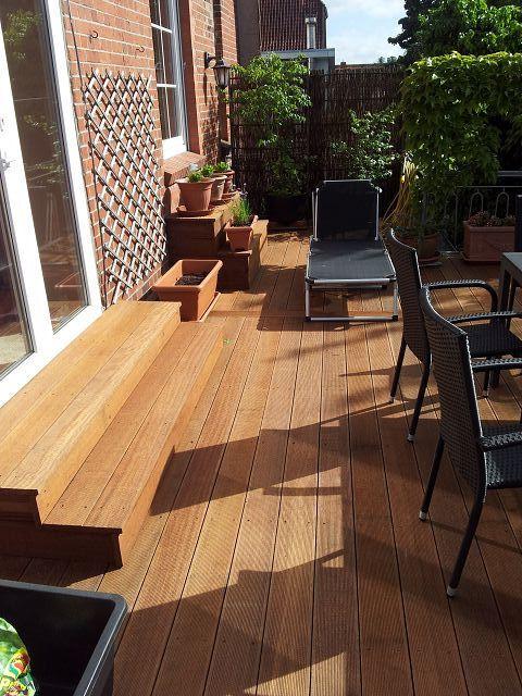 Holz Terrasse  Holzterrassen und Holzfliesen