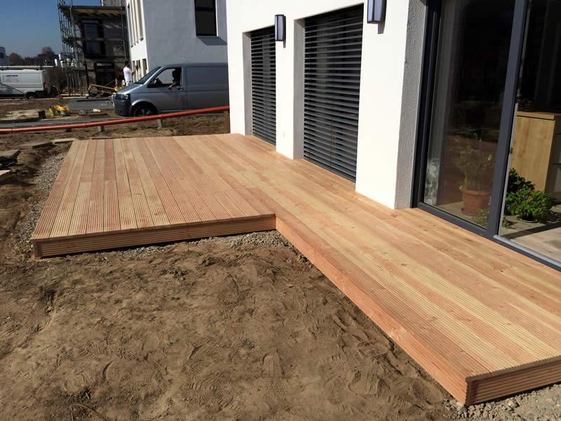 Holz Terrasse  Holz Terrasse Nicht Uberdacht – Bvrao
