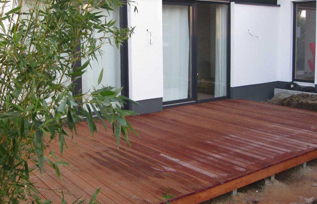 Holz Terrasse  Holz Terrassen WPC Terrassen Montage oder Selbstbau