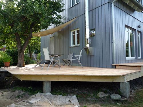 Holz Terrasse  Max Holzwerk OHG Wir bauen Ihre Holz Terrasse