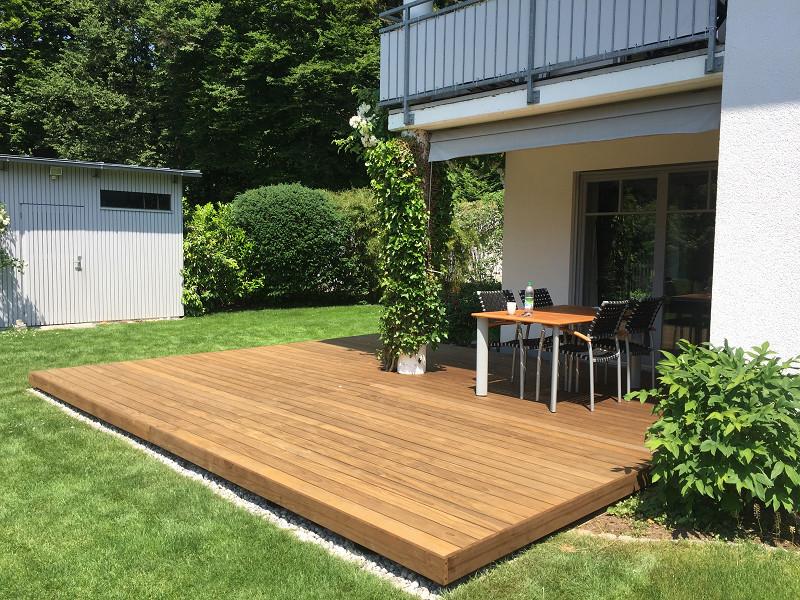 Holz Terrasse  BS Holzdesign