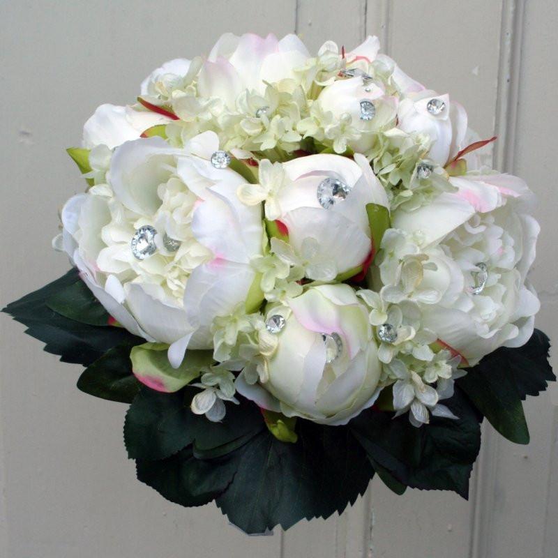 Hortensien Brautstrauß  Brautstrauß weiß