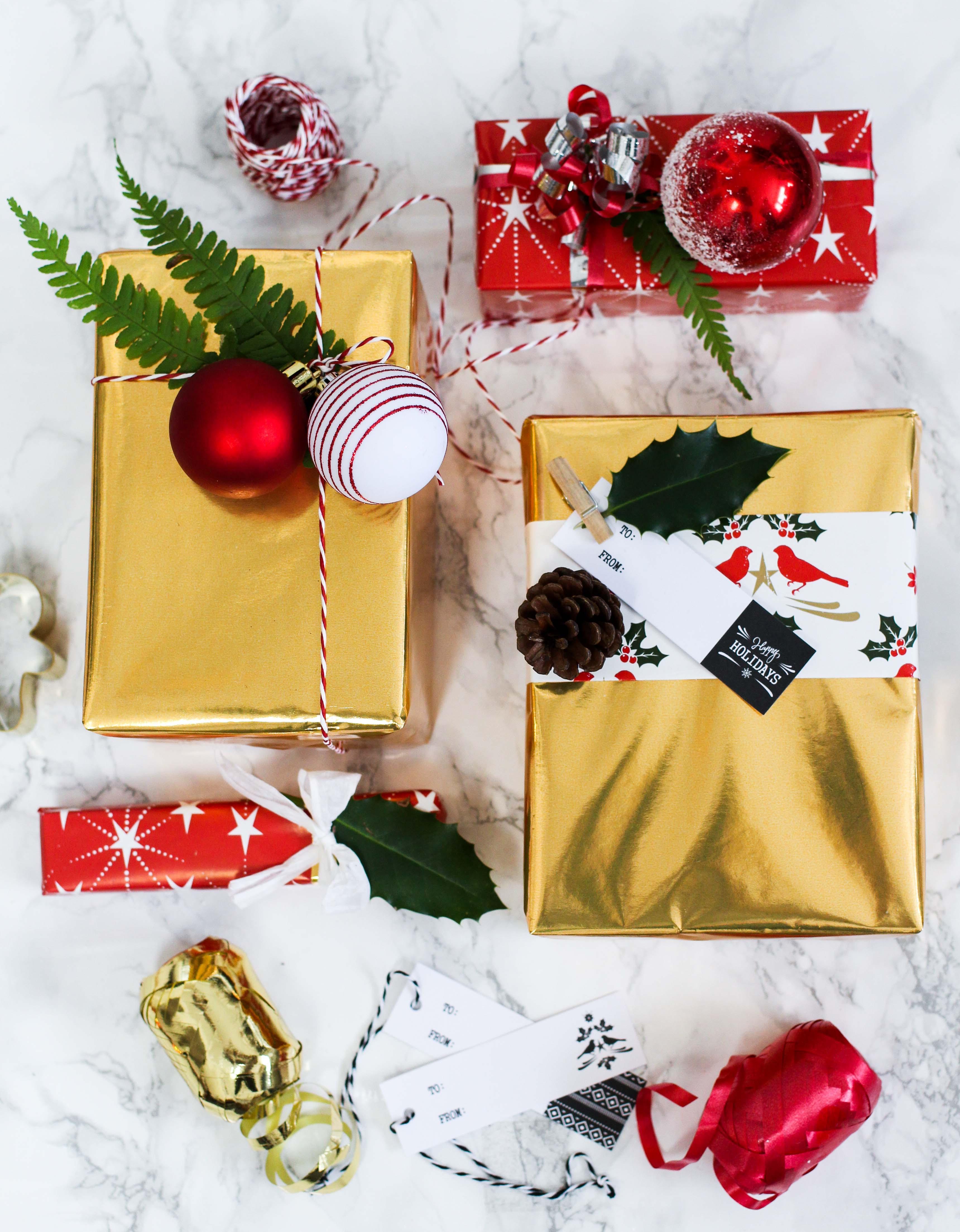 Ideen Für Geschenke  Geschenke kreativ einpacken für Weihnachten