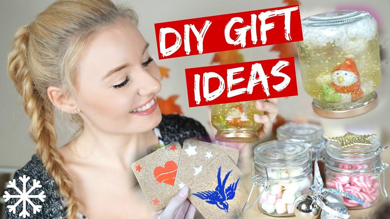 Ideen Für Geschenke  DIY GESCHENKE IDEEN für WEIHNACHTEN mit Luisa Crashion