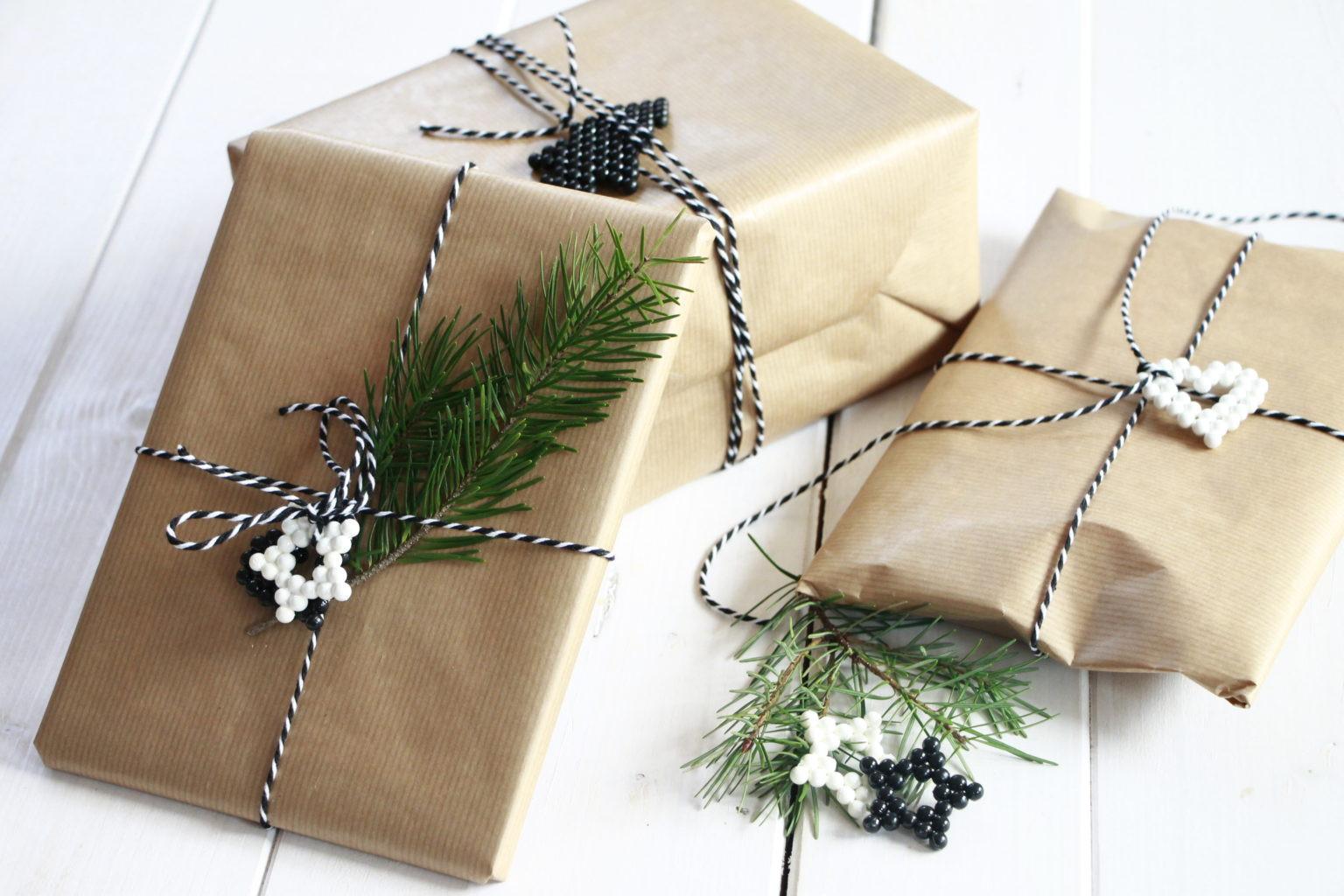 Ideen Für Geschenke  Weihnachtsgeschenke verpacken Ideen mit Aquabeads