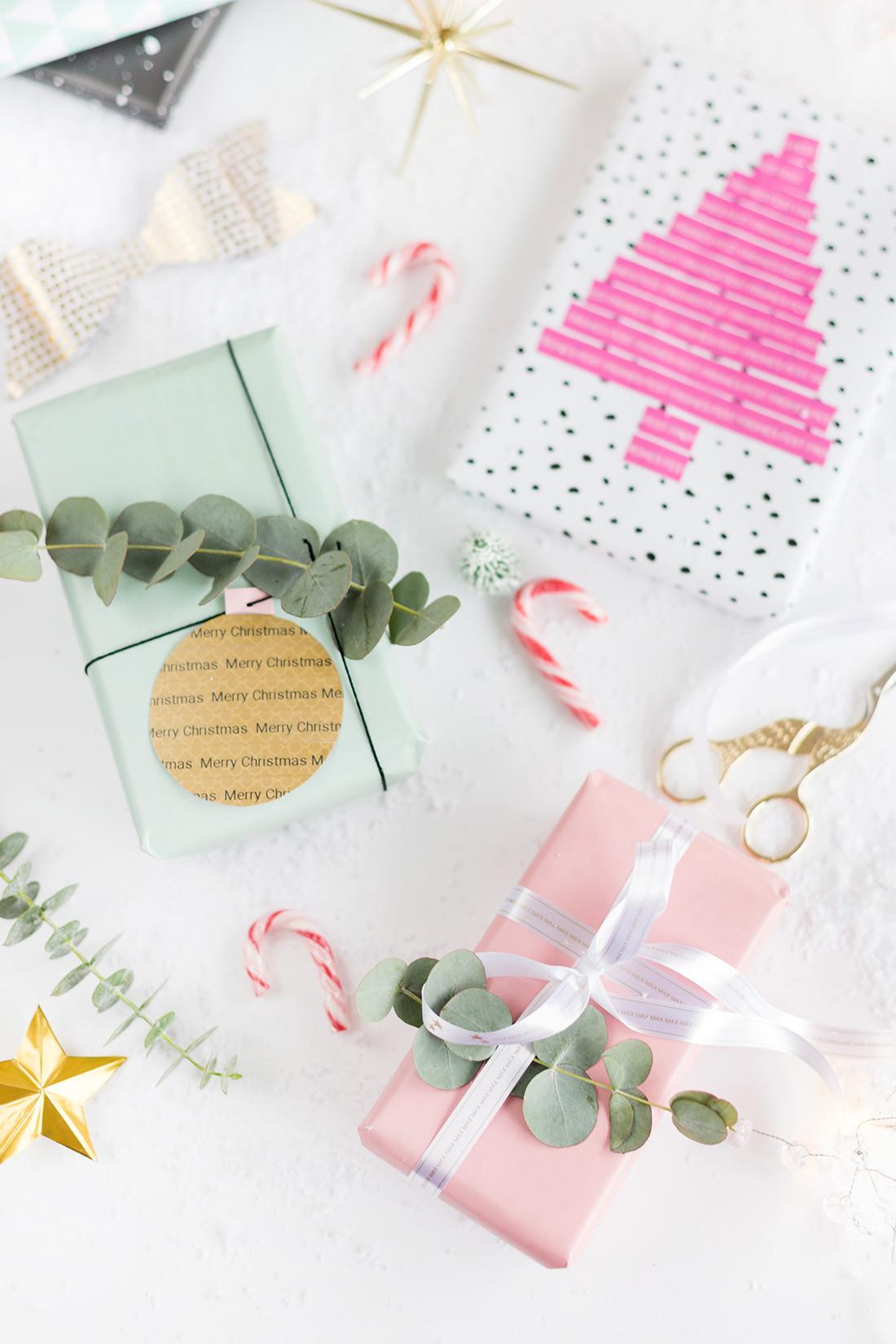 Ideen Für Geschenke  3 DIY Ideen zum Weihnachtsgeschenke verpacken mit