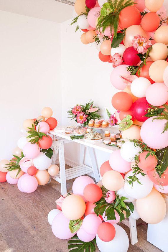 Ideen Geburtstagsfeier Erwachsene  Tropical flamingo girl s birthday party by The Shift