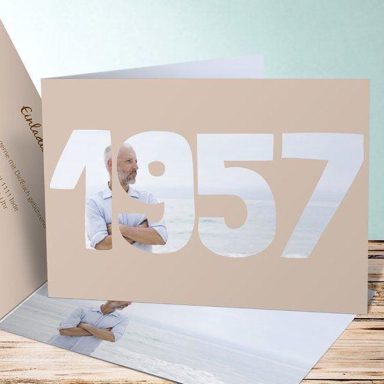 Ideen Geburtstagsfeier Erwachsene  Jahrgang 1957 Einladung Geburtstag
