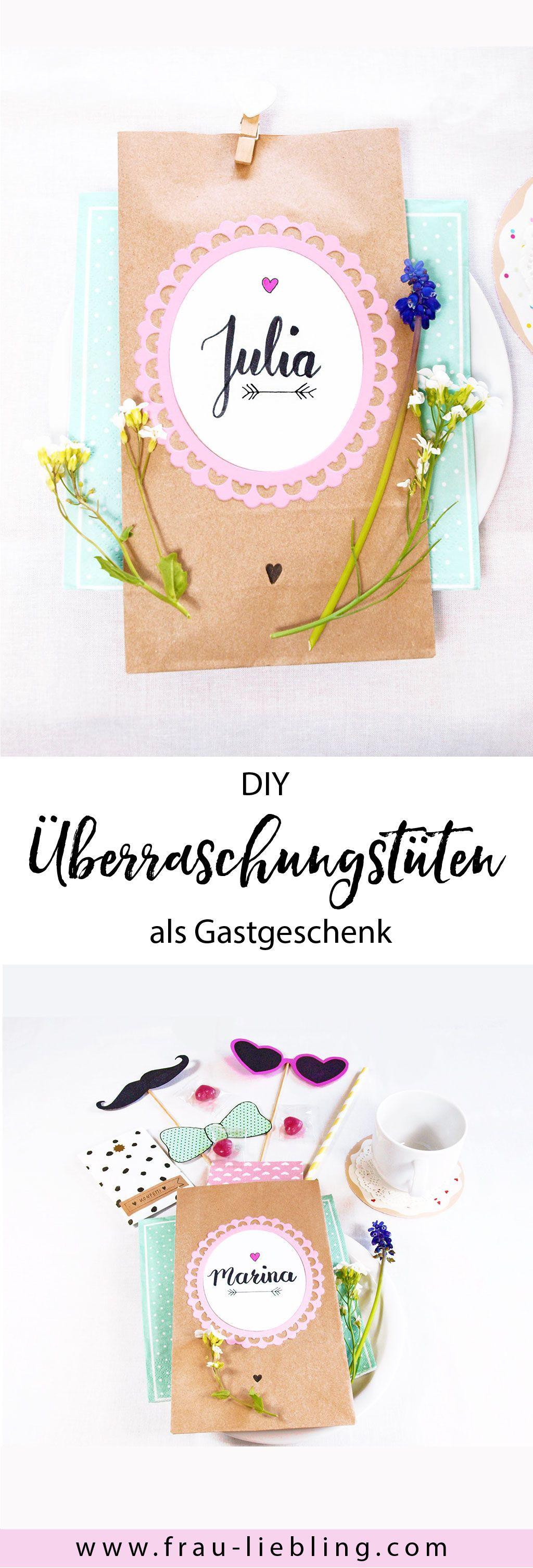 Ideen Geburtstagsfeier Erwachsene  Das ideale Geschenk für deine Gäste DIY Wundertüten ganz