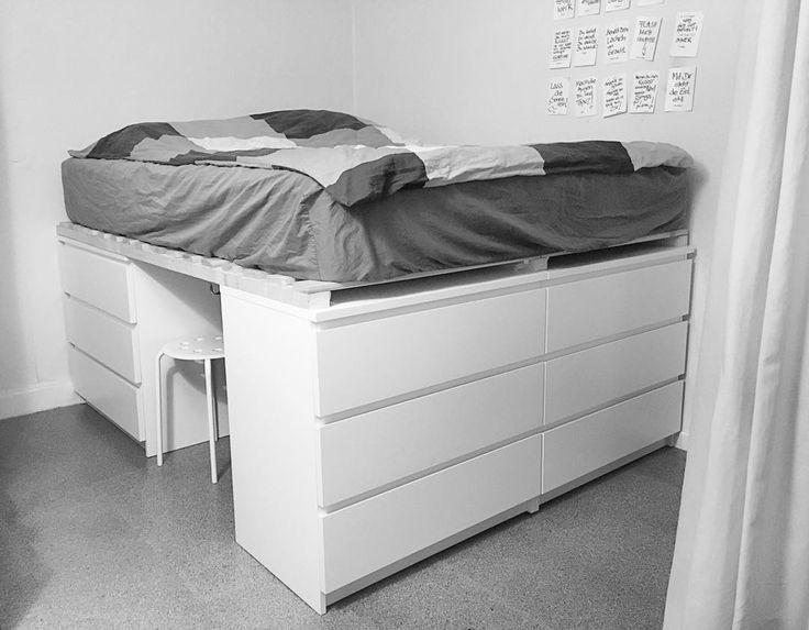 Ikea Diy Bett  dasneuebett hatmeinlieblingsmenschselbstgebaut diy