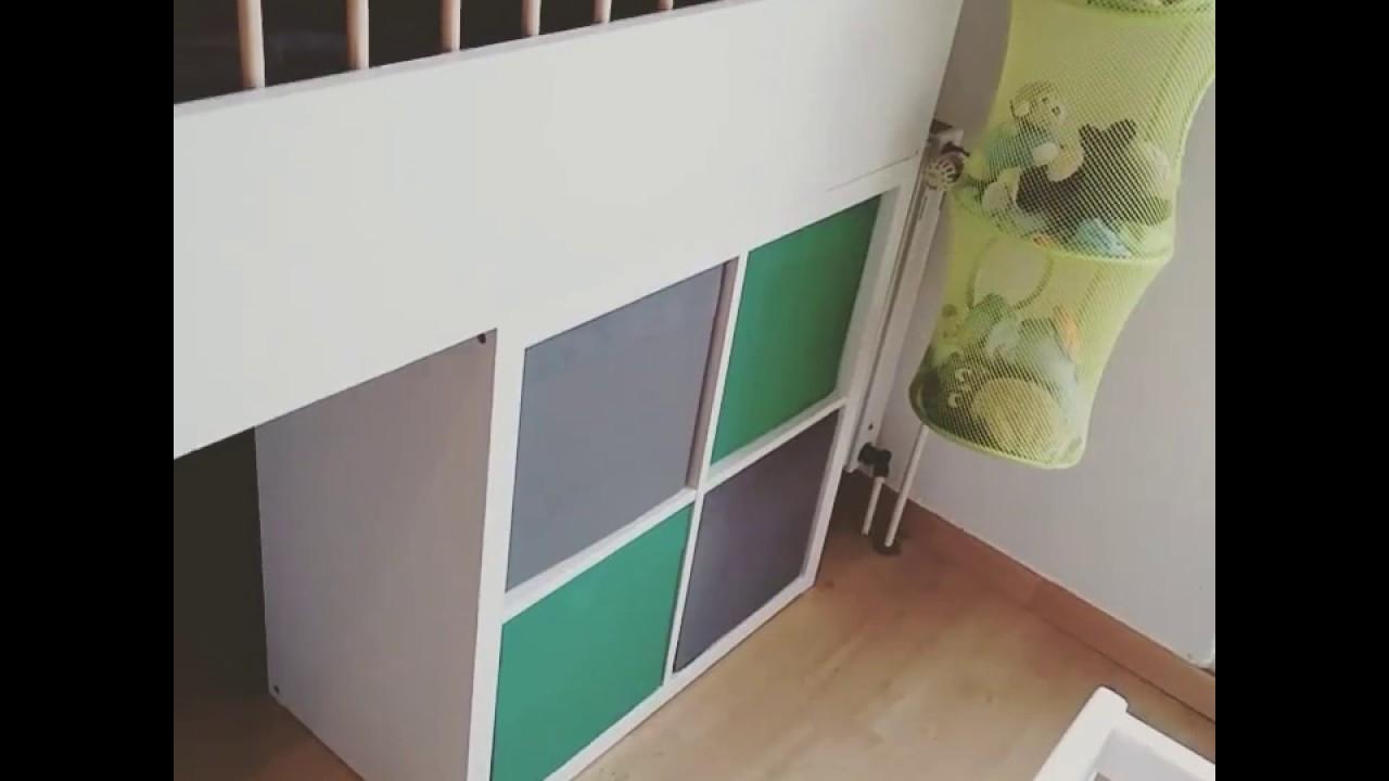 Ikea Diy Bett  DIY IKEA Hack 1 I Bett aus Kallax Regalen