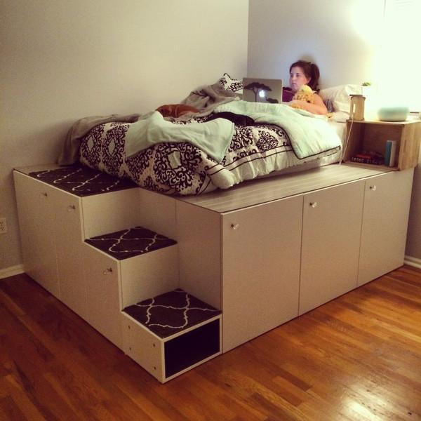 Ikea Diy Bett  So erstellst du dir dein individuelles Bett