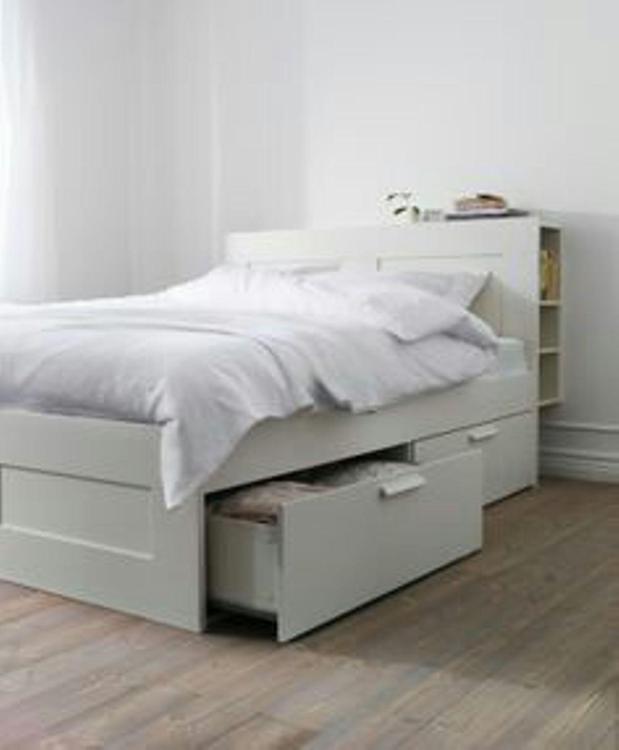 Ikea Diy Bett  Ikea Bett Quietscht Brimnes – Nazarm