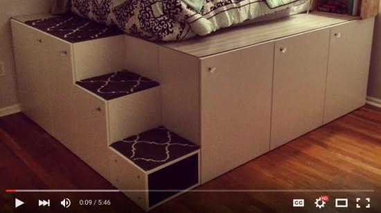 Ikea Diy Bett  IKEA Sektion Hack Plataforma cama bricolaje