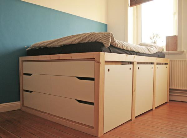 Ikea Diy Bett  Der beste Ikea Bett Hack den du je gesehen hast